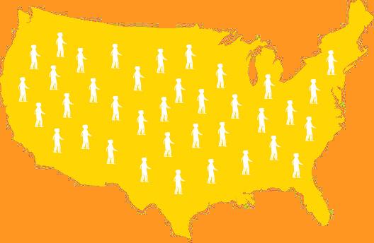 Mapa de EE. UU.