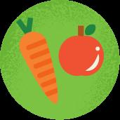 Frutas y vegetales