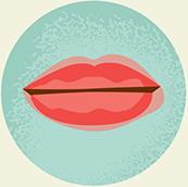 Urticaria en la boca