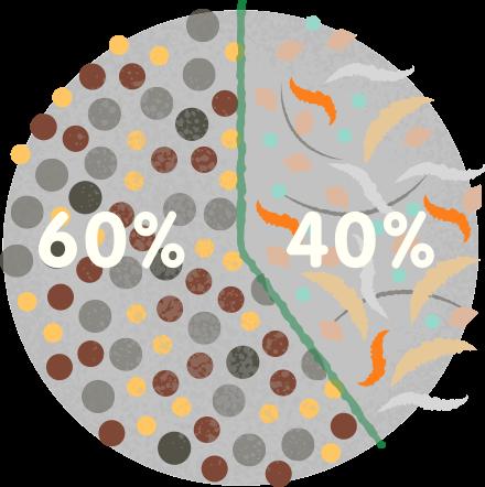Polvo: el 40% viene del  interior, y el 60% viene del exterior