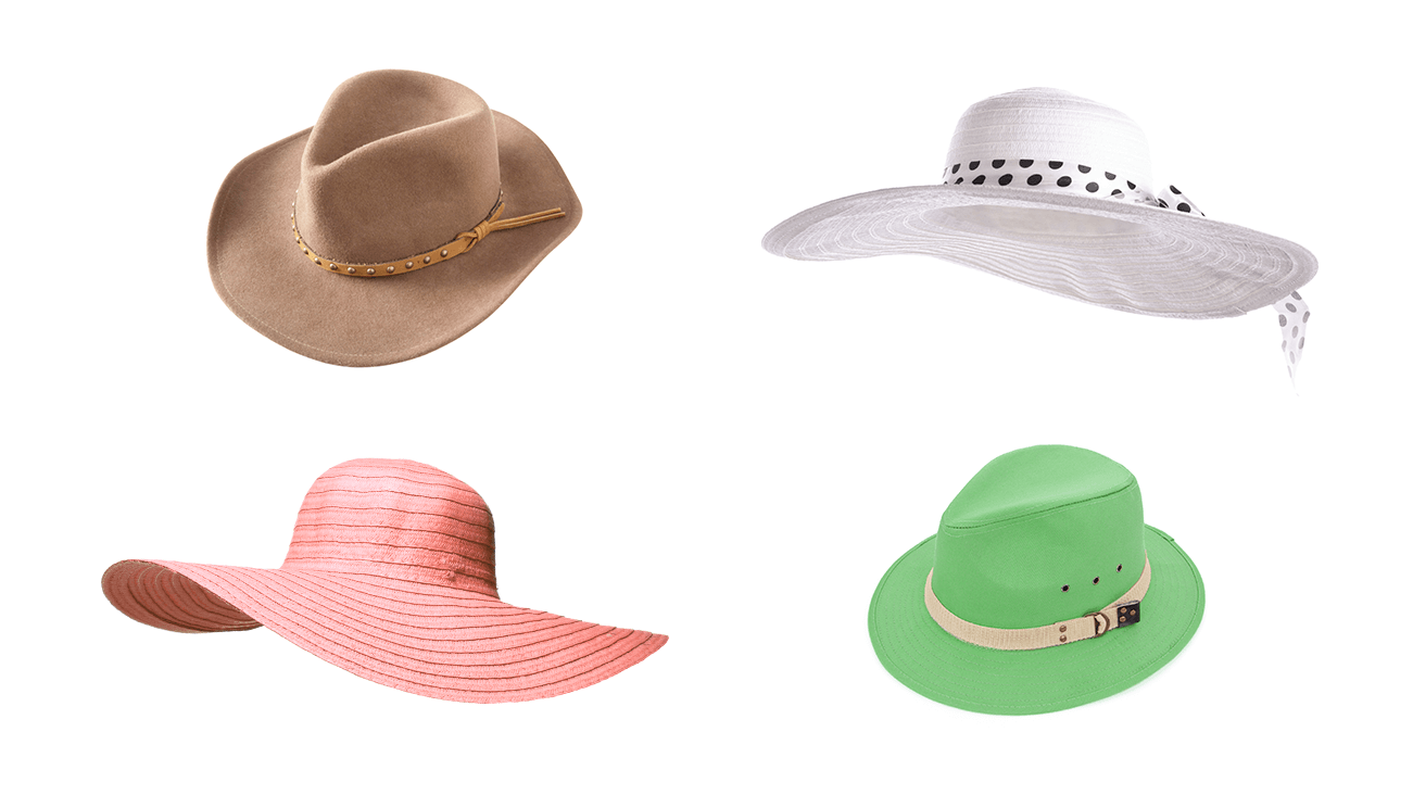 Large and In Charge Brimmed Hats