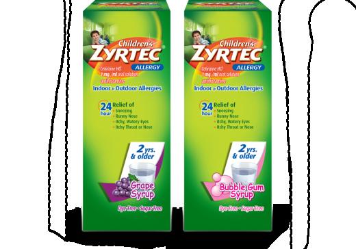 Children S Zyrtec 174 Allergy Syrup Zyrtec 174