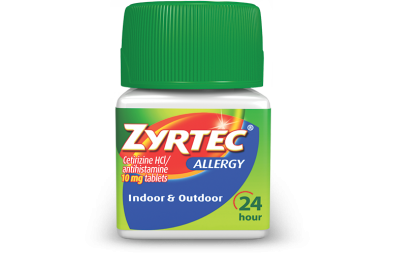 Zyrtec Allergy 24 Hour Tablets