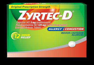 ZYRTEC-D®