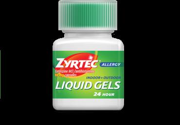 Zyrtec Liquid Gels