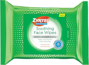 ZYRTEC® Soothing Face Wipes
