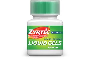 ZYRTEC® Liquid Gels