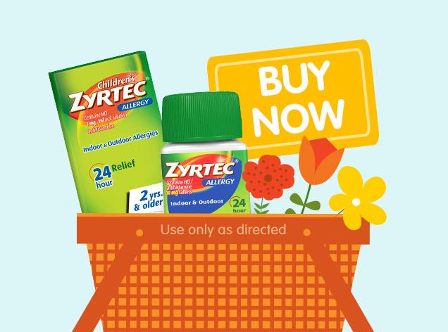 ALLEGRA® vs  ZYRTEC®: Allergy Medicine Comparison   ZYRTEC®