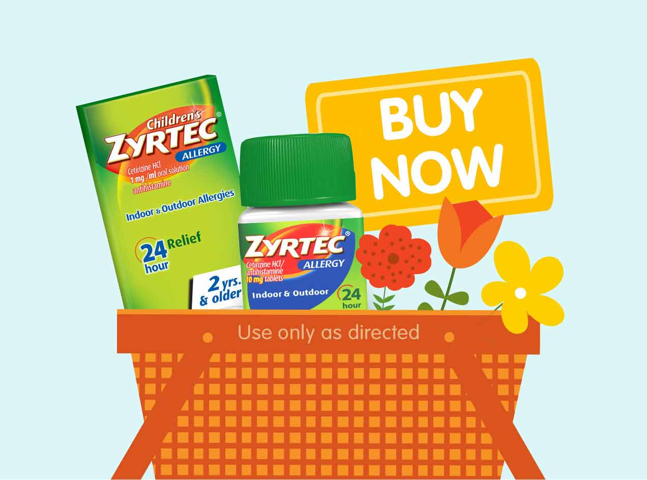 Find Relief with ZYRTEC® & Buy Now