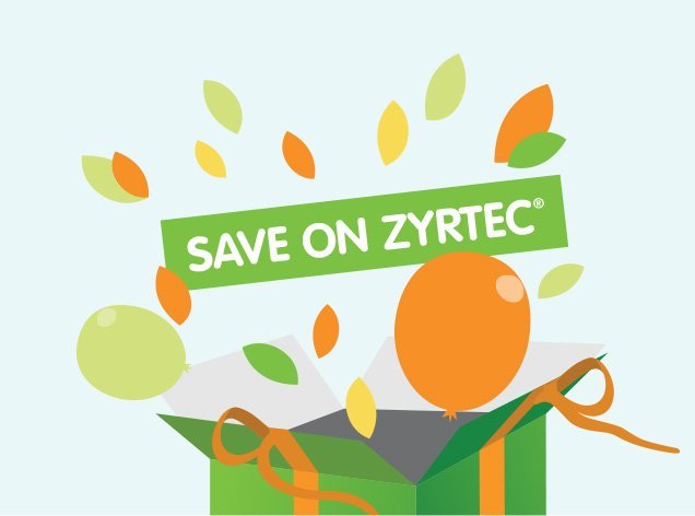 Save Money, Sneeze Less with $4 Savings on ZYRTEC®